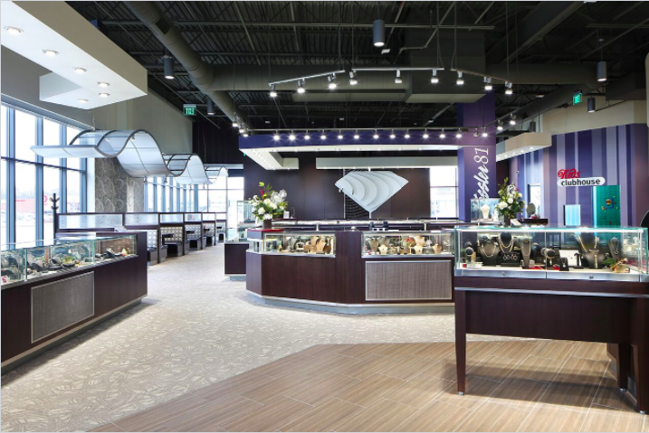 Jewelry Store Commercial Interior Design