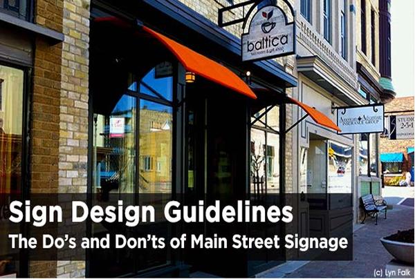 Sign Design Guidelines