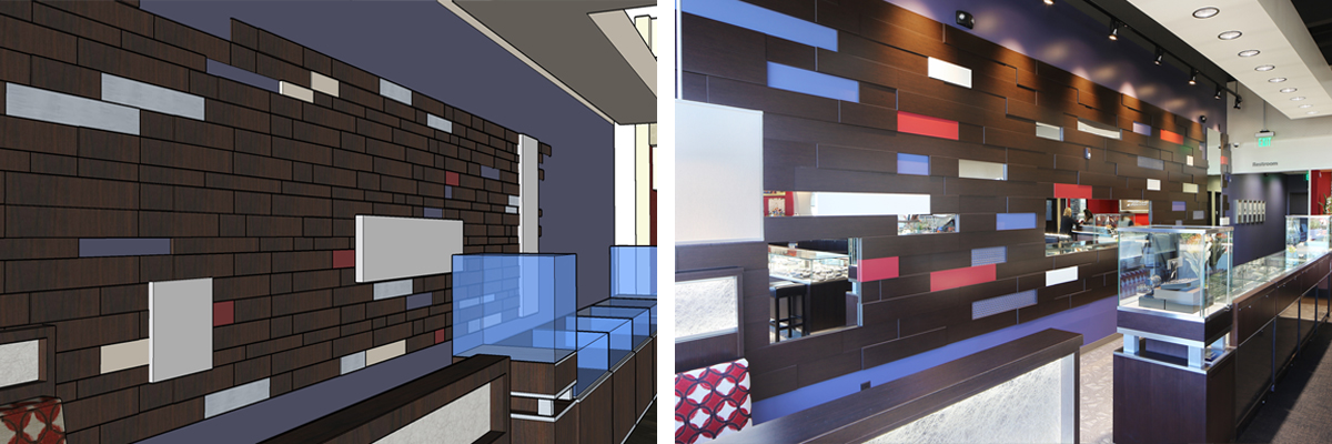 Interior Design and 3D rendering