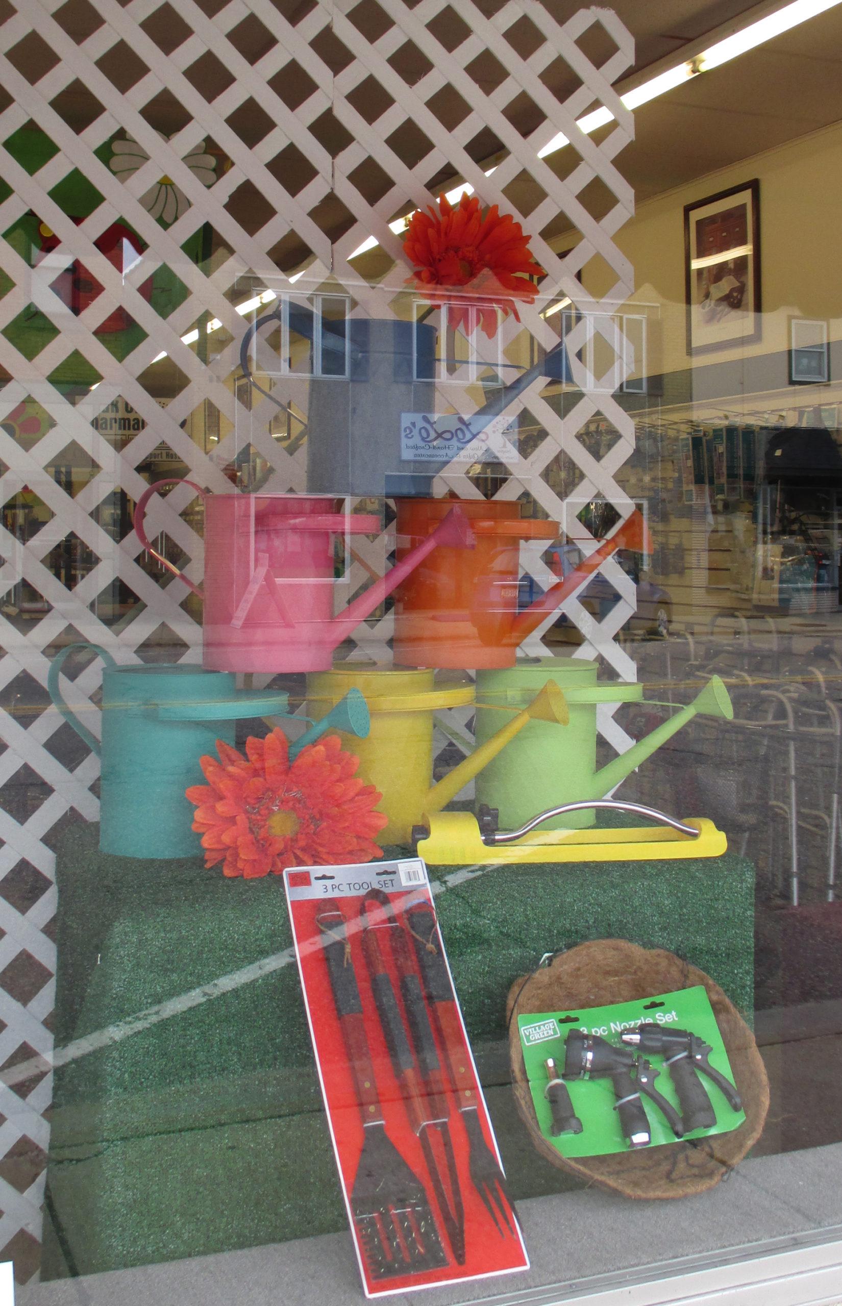 Window display seasonal