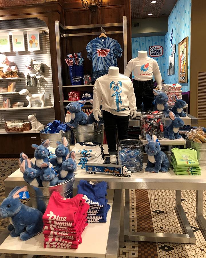 blue bunny visual merchandising