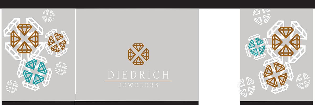 diedrich jewelers 2019 winter window display