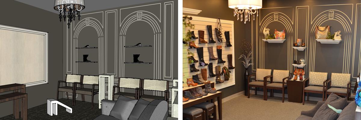 elm shoes rendering