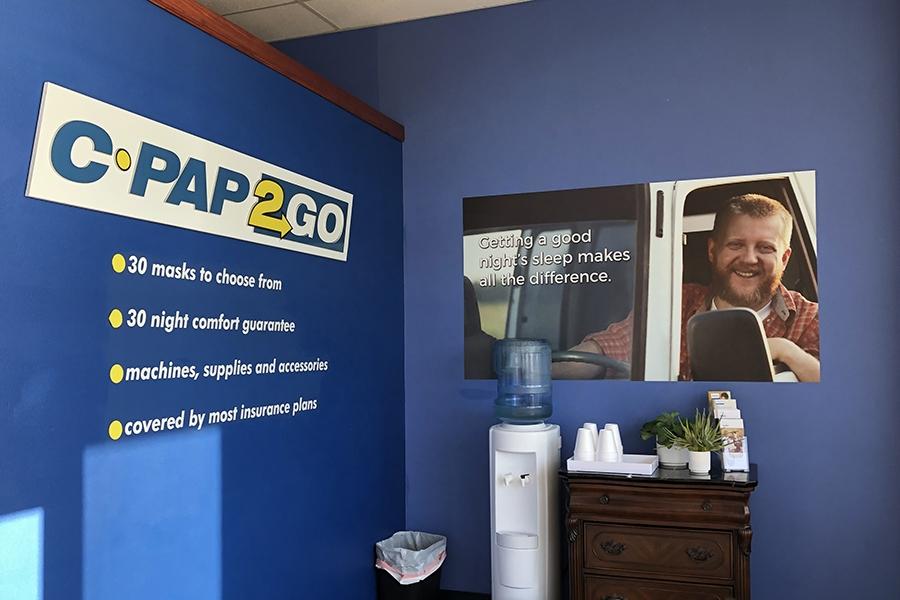 cpap2go visual merchandising