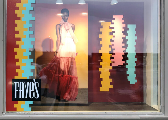 fayes 2020 spring window display
