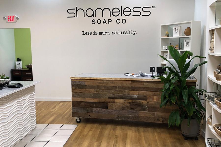 shameless soap co design