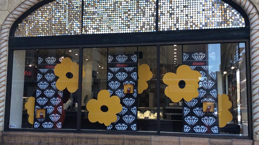 kesslers diamonds 2017 spring window display