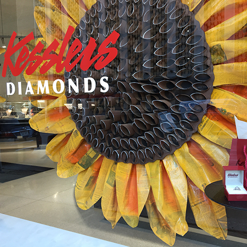 kesslers diamonds window display
