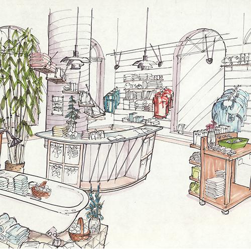 kohler company showroom design