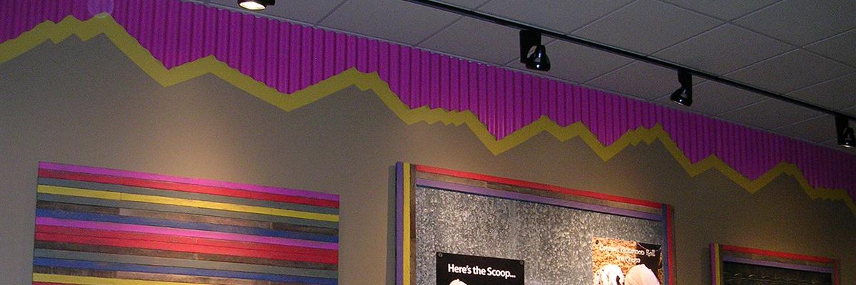 restaurant interior design banner
