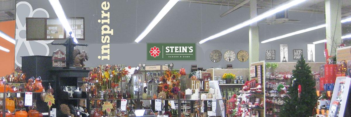 steins garden and home banner