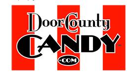 door county candy logo