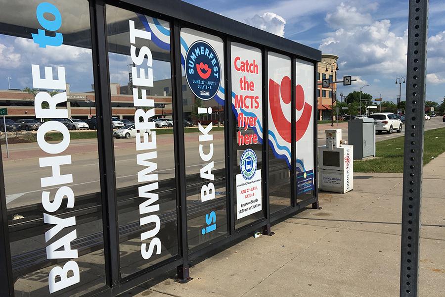 bayshore summerfest bus stop
