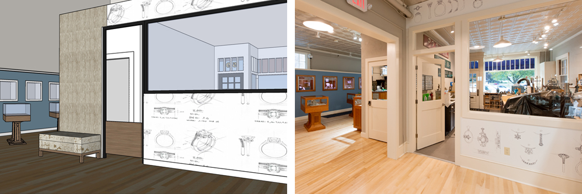 Dutilles interior rendering
