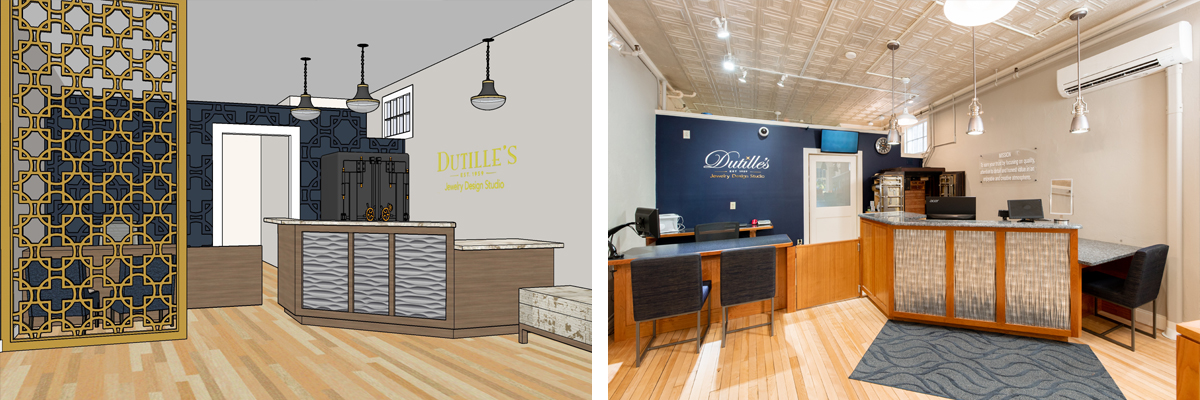 Dutilles interior rendering