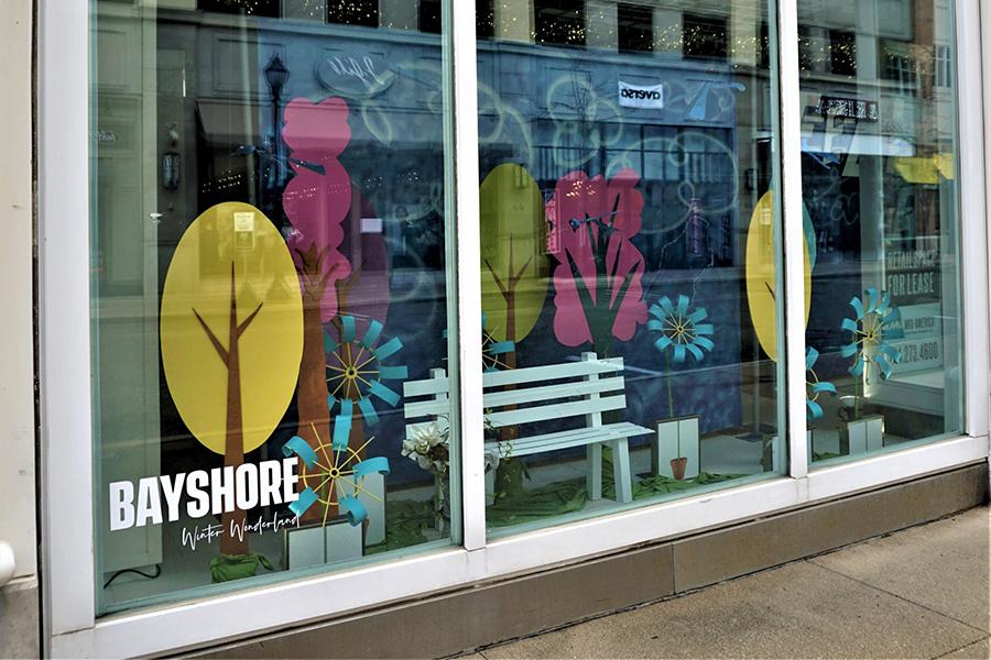 bayshore window display