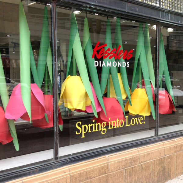 tulip display prop