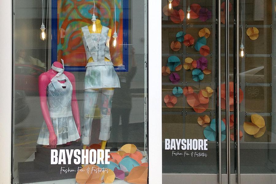 mannequin window display