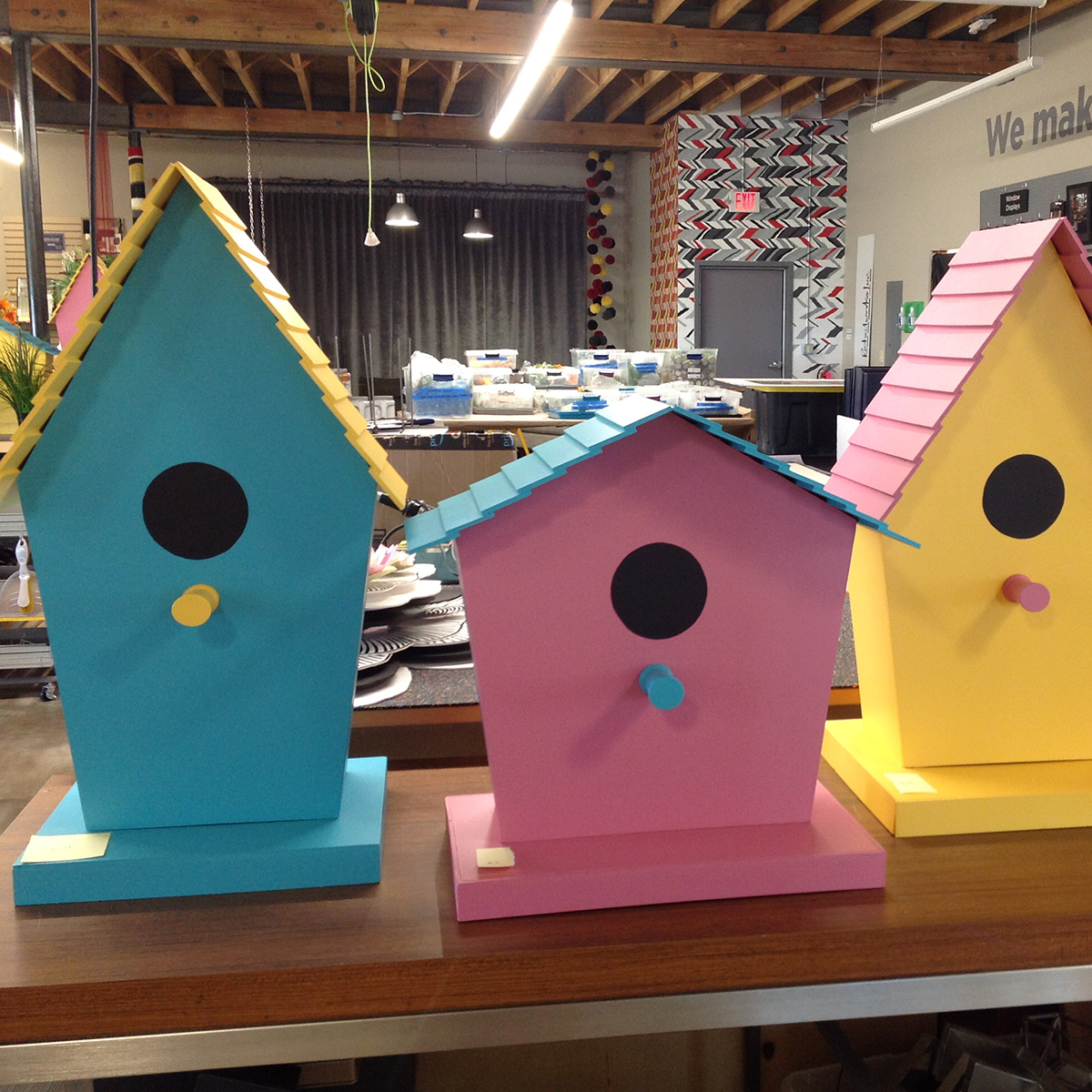 bird house prop