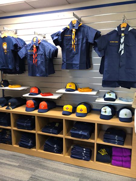 Kenosha Scout Shop Slatwall