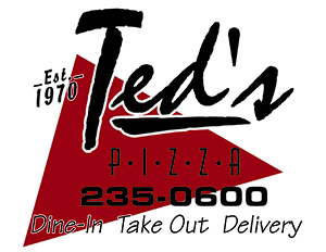 Ted's pizza palace logo